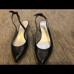 fc4be486a80 Black Anne Klein Slingback Heels on Poshmark